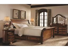 Napa Bedroom Furniture Aspenhome Napa King Size Bed With Sleigh Headboard Storage Base