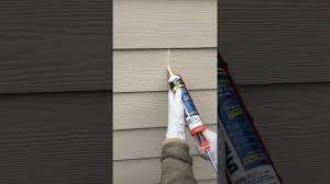 how to caulk har plank lap siding field joints diy post construction