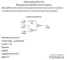 Метрология Сайт для студентов МИСиС и других вузов  metrolog lab №1 4