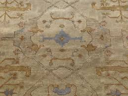 8x10 beige hand knotted rug new oushak wool rugs persian oriental ushak woven
