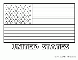 Let's get to know the world together. Original American Flag Coloring Page Coloring Home