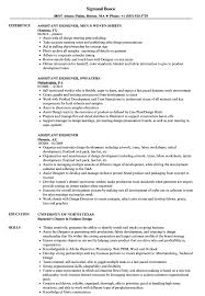 Assistant Designer Resume Assistant Designer Resume Samples Velvet Jobs