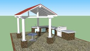 To Build Outdoor Kitchen How To Build An Outdoor Kitchen Howtospecialist How To Build