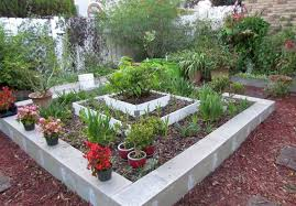 cinder block garden ideas