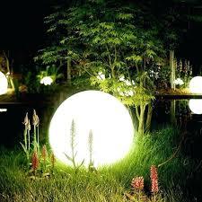 outdoor lighting balls.  Lighting Modern  With Outdoor Lighting Balls A
