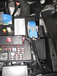 c6 ignition controlled power outlet reach up and pull down the fuse panel cover exposing the fuse panel