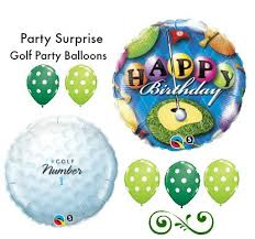 Golf Ball Decorations Golf Balloons Golf Birthday Balloons Putting Green Golf Game 77