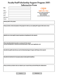 college book report template to editable fillable ssp information form buffalo state college