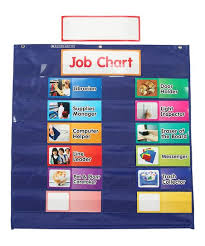 Scholastic Teaching Resources Class Jobs Pocket Chart Set