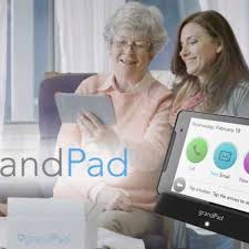 Tablet Designed For Seniors Riding Together Grandpad The Tablet Designed Specifically