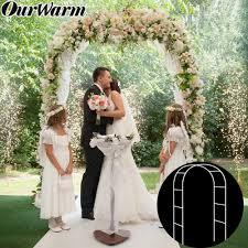 details about diy wedding metal arch pergola garden backdrop stand bridal prom flower frame