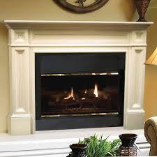 Pearl Mantels Newport Wood Fireplace Mantel Surround  HayneedleFireplace Mantel