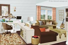 living room office combination. Living Room Office Combo With Space In A Large This Combination M