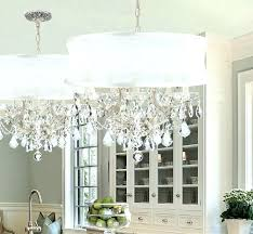 large drum shade chandelier remarkable round shade