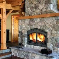 wood burning fireplace glass doors bi fold glass doors corner