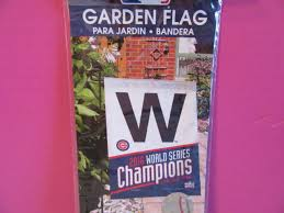 new chicago cubs w world series champions 11 x 15 garden flag baseball rizzo