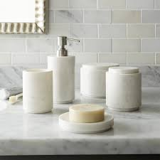 High Low Marble Bath Accessories Bath Accessories Crates And