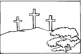Cross Coloring Pages Impressive Cross Coloring Page Free Printable