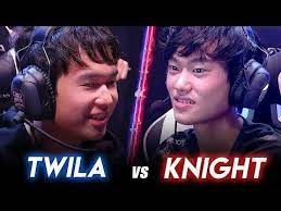 Intense 1v1 between Knight and Twila in LPL All-Stars : leagueoflegends