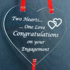 enement gift present couple two hearts one love