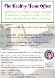 healthy home office. The Healthy Home Office: Avoid 3 Hidden Hazards WORKSHOP Office
