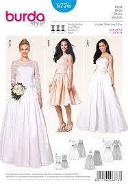 Wedding Dress Patterns To Sew Best Burda Pattern BD48 Misses Wedding Dress Jaycottscouk Sewing