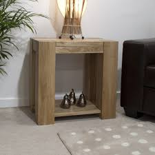 oak end tables. Padova Solid Chunky Oak Furniture Lamp Sofa Side End Table Tables O