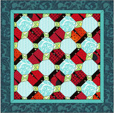 Loveable Ladybugs   Quilt design, Ladybug and Patchwork & An adorable design for any ladybug lover! Available for and Quilt Design  Wizard! Adamdwight.com
