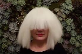 kelly clarkson wears sia wig for covers chandelier watch billboard
