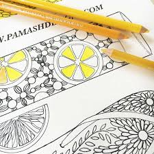 I'm so excited to share these printable coloring bookmarks with you! Free Printable Bookmarks Pam Ash Designs