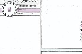 Planner Paper Template 4x6 Monthly Weekly Diy Planner Templates Meeting Notes Amanda