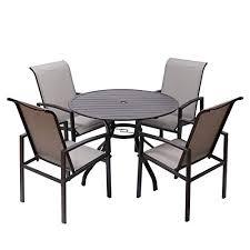 frp 5 pieces outdoor dining set