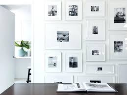 white wall picture frames eye candy gallery walls done right white walls black picture frames white wall picture frames