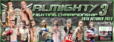 grabaka hitman amateur mma almighty fighting championship 3 leeds england