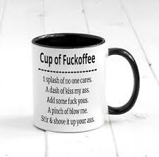office mugs funny.  Funny Image Is Loading CupofFuckoffeeFunnyCoffeeMugRudeText With Office Mugs Funny