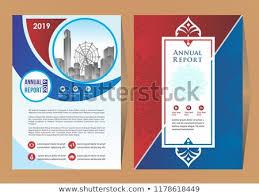 Brochure Background Design Business Brochure Background Design Template Flyer Stock Vector