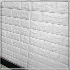 Free Samples PE Brick Foam 3D Wallpaper ...