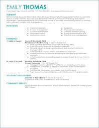Accounts Receivable Resume Template New Accounts Receivable Resume Fresh 28 Page Resume Template Pdf Format
