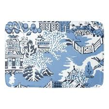 blue willow rug blue white china blue willow bathmat rug blue willow pattern rugs blue willow rug