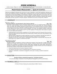 Maintenance Supervisor Job Description Template Resume Pictures Hd