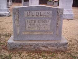 Bettie Rudder Dudley (1876-1946) - Find A Grave Memorial