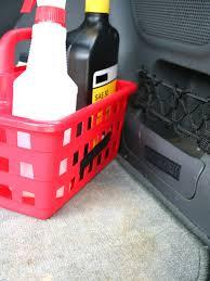 shower caddy car fluids organizer