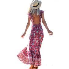 <b>Sexy Strap</b> Dress 2019 Spring <b>Summer New Hot</b> Bohemian Dress ...
