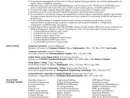 Resume Edmonton Resume Work Template