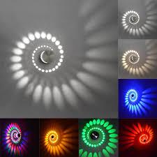 2018 modern 3w led wall light 110v220v ktv karaoke bar decoration spiral sconce ceiling living room coffee shop from fashion717 cheap wall lighting p91 lighting