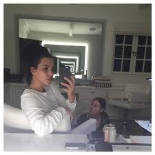 kim kardashian posts no makeup selfie uses bad grammar the hollywood gossip