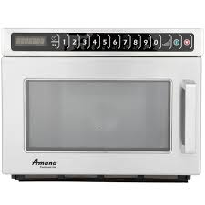 packed with features to meet the needs of heavy duty high volume foodservice operations this stackable and powerful commercial microwave oven is essential