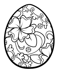 To Print Easter Egg Coloring Pages 89 In Coloring for Kids with ...