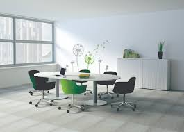 arrow office furniture. disqus_com200_white_top_silver_bases_green_chairs versa_white_oak_crescent_desk_x3z121_storage arrow office furniture e