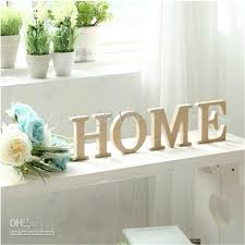 wooden letter home decoration free standing alphabet a z party decor diy letters name combination decor 10 10cm decoration items for home decoration